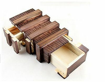 Educational toys Wooden Cryptex gift ideas holiday gift Christmas gift to mar...