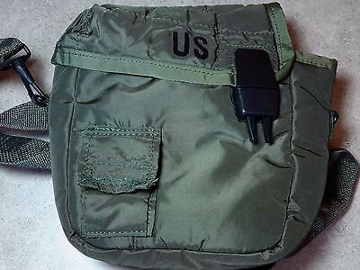 NEW 2 Quart Canteen Cover - OD Green US Mil-Spec w/Shoulder Strap & Alice Clips