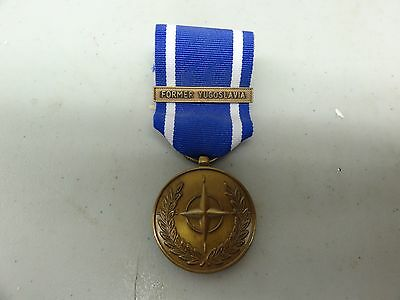 Us Military Medal Nato Forme Yugoslavia Service Of Peace And Freedom