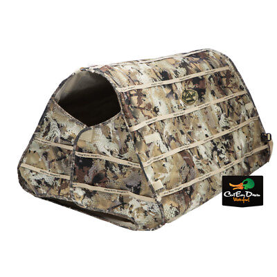 Rig'em Right Waterfowl Field Bully Dog Blind Max-5 Camo Pop Up Collapsible