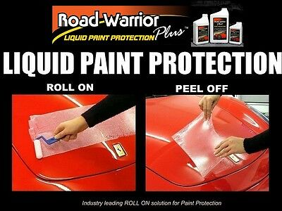 Clear Bra Paint Protection Film Coating Love Bug Scratch Chip Guard Quart Kit