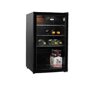 Heller HBC115B 115L Black Beverage Cooler