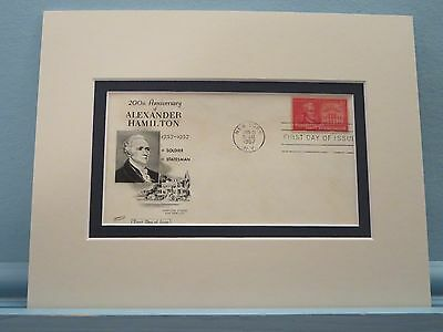 Alexander Hamilton promotes the U.S. Constitution & First day Cover of his stamp
