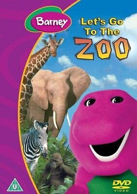 Barney - Barney - Let's Go To The Zoo [DVD] - DVD  6QVG The Cheap Fast Free Post
