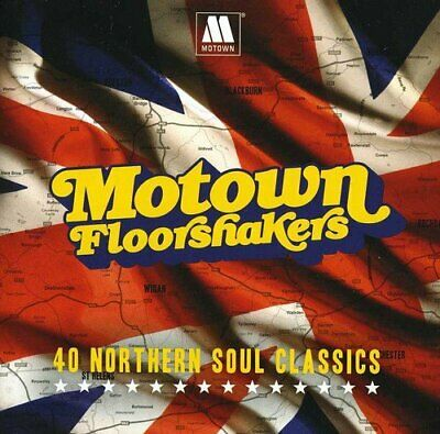Various Artists - Motown Floorshakers - Various Artists CD CQVG The Cheap Fast
