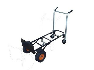 NEW Heavy Hand Truck Platform Convertible 2in1 Trolley (300kg Capacity)