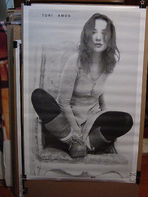 "TORI AMOS - VINTAGE 90's CHAIR PORTRAIT POSTER - 23 x 35"" RARE OUT OF PRINT"