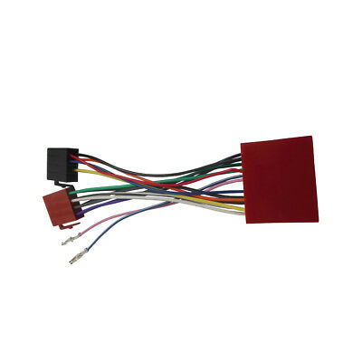 ISO Wiring Harness Adaptor for Mazda 2001+ Stereo Cable Aftermarket Connector