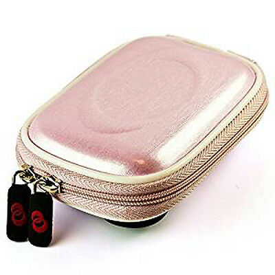 Pink Tough EVA Camera Case Cover Shell for Canon PowerShot ELPH 360 HS/ IXUS 190