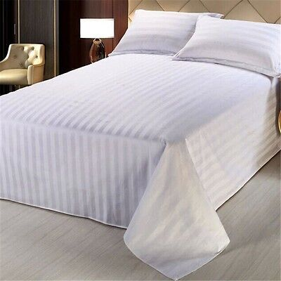 New Come Thicken Cotton Bed Sheet Set Flat Fitted Linen Sheets Twin Queen King