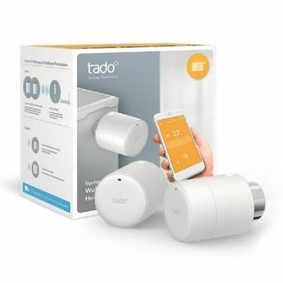 tado Starter Kit - 2x Smart Heizkörperthermostate + Internet Bridge