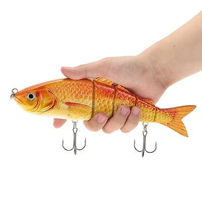 5-segment Lure Hard Baits Lifelike 22-25cm Swimbait Bass Bait Multi-jointed POP