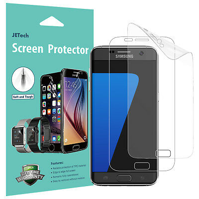 JETech® Samsung Galaxy S7 / S7 Edge Screen Protector PET Ultra Clear Film