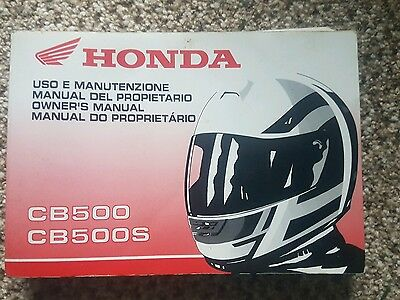 Honda CB900F Owners Manual
