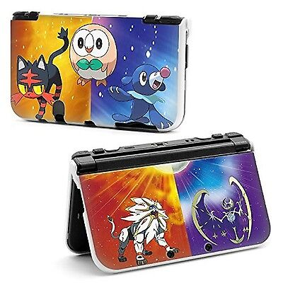 Sun and moon Pokemon Hard Protective Case Cover For Nintendo NEW Style 3DS Xl