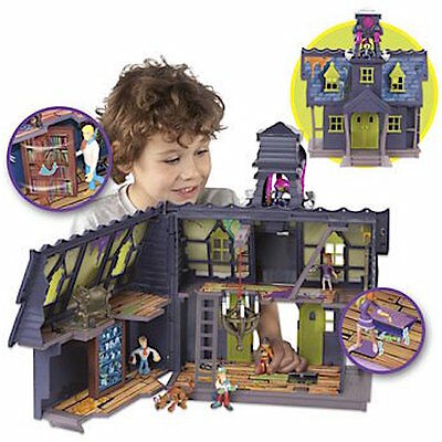 Scooby Doo Mystery Mansion with Goo Turret, Includes Shaggy and Scooby Figures