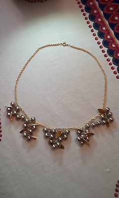 Vintage 1980s 'Bunches of Grapes' Costume Necklace