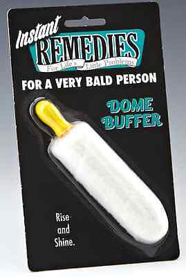 Bald Head Polisher Dome Buffer Mens Novelty Gift Secret Santa Stocking Filler