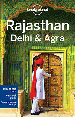 Lonely Planet RAJASTHAN, DELHI & AGRA 4 (Travel Guide) - BRAND NEW PAPERBACK