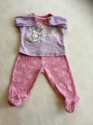 Baby Girls Clothes 3-6 Months - Cute Disney Pyjamas -