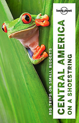 Lonely Planet Central America on a shoestring Travel Guide NEW 9781786571113