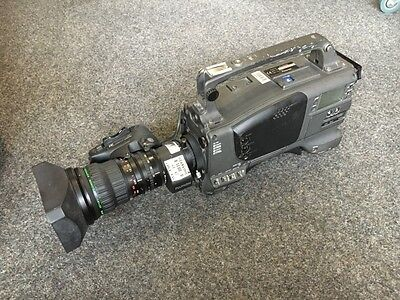 Panasonic AJ-D800E Camera + Lens A15x8BEVM-G28 + Fixed voltage power supply unit