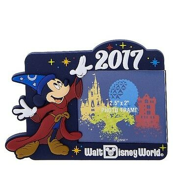 Disney Parks 2017 Walt Disney World Frame Magnet New