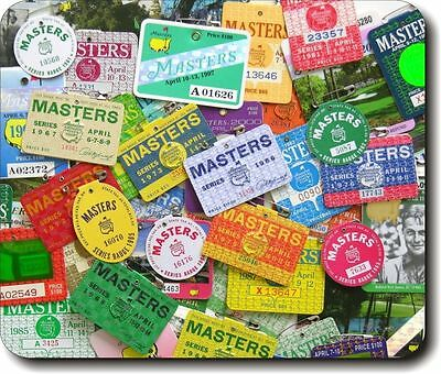 New masters golf tournament badges Mouse Pad Mats Mousepad Hot Gift
