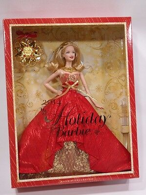 Barbie Doll with Ornament 2014 Red Dress Collectors