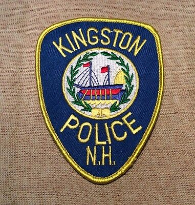 NH Kingston New Hampshire Police Patch
