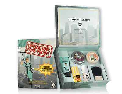 Benefit Cosmetics Operation Pore Proof Kit Brand New in Box-Never Used