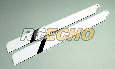 R/C Hobby Glass Fiber 325mm RC Model Helicopter Main Blades (1pair) MB335