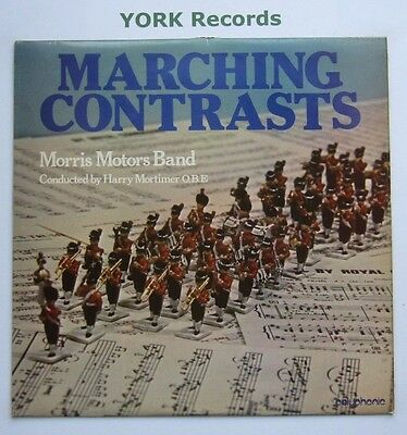 MORRIS MOTORS BAND - Marching Contrasts - Ex Con LP Record Polyphonic PRL 002