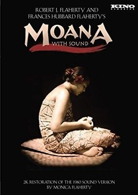 Moana with Sound [New DVD] Silent Movie
