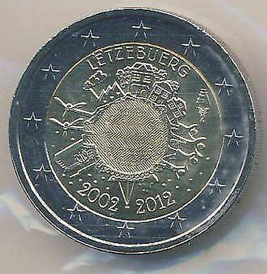 Commemorative coin 2012 Luxembourg EURO cash (Edition only 500 000 Piece)