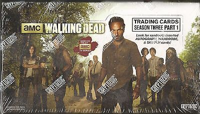 The Walking Dead Season 3 : Part 1 (2014 Cryptozoic) Box -2 Hits Per Box