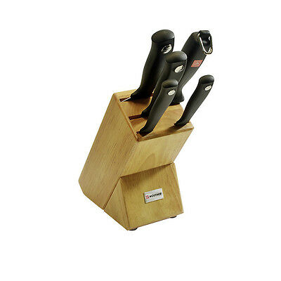 NEW Wusthof Silverpoint 6pc Knife Block Set (RRP $359)