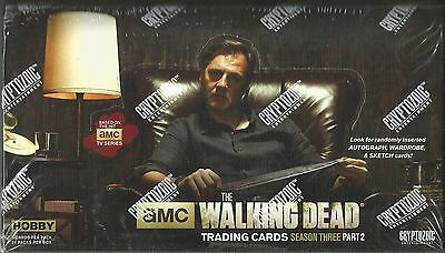 2014 Cryptozoic The Walking Dead (Season 3 Part 2) Factory Seale -2 Hits Per Box