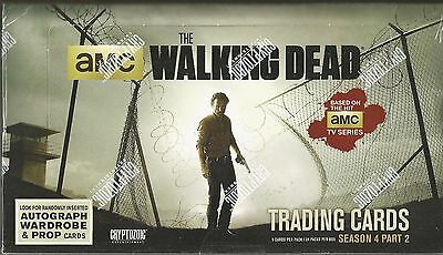 2014 Cryptozoic The Walking Dead (Season 4 Part 2) Factory Seale -2 Hits Per Box