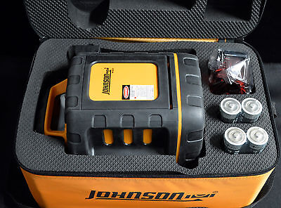 Johnson Level 40-6527 Self-Levelling Rotary Laser Level - VERY NICE!