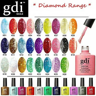 Gdi Nails - Diamond Glitters Uv Led Soak Off Gel Nail Polish