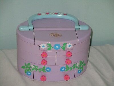 1991 Polly Pocket  Pullout playhouse. Carrying Case. Vintage