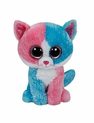 "TY Beanie Boo 6"" ~ Fiona the Cat ~ Justice Exclusive Fiona the Cat ~ Justice"
