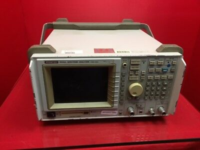 ADVANTEST R3365 SPECTRUM ANALYZER 100Hz-8GHz s/n35550028