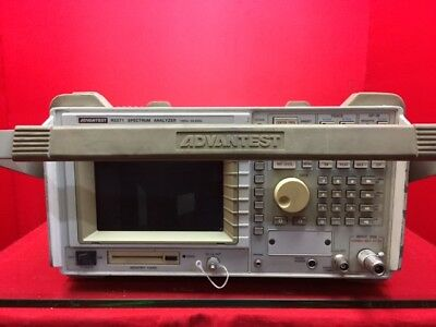 Spectrum Analyzer R3371  W/TRACKING GENERATOR 100 Hz - 26.5 GHz  S/N 38630002