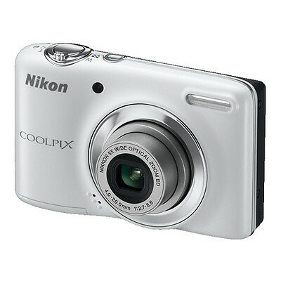 Nikon COOLPIX L25 10.1 MP Digital Camera - White