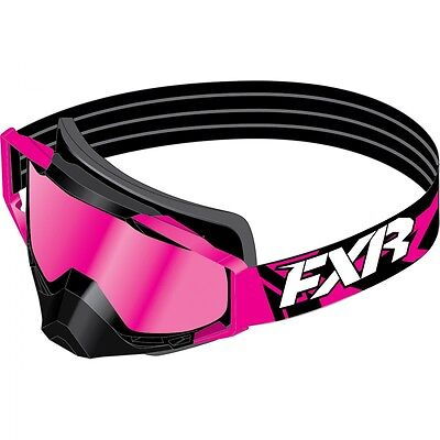 FXR Core Pink Womens Sled Winter Skiing Snowboard Snowmobile Goggles
