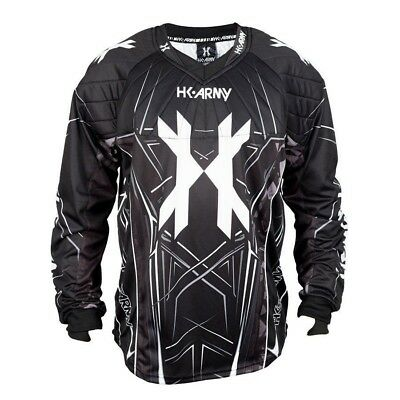 Paintball 2017 HK Army HSTL 2017 Paintball Jersey - Black - 3XLarge
