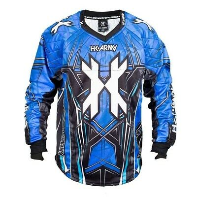 Paintball 2017 HK Army HSTL 2017 Paintball Jersey - Blue - XLarge