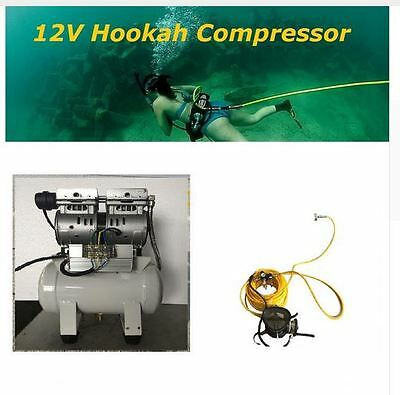 Diving Hookah 12V Hull Maintenance Electric Boat Air Metal Detecting Compressor